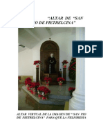 Altar de San Padre Pio 1