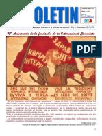 9º Boletín del Ateneo Paz y Socialismo