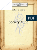 Dreamscarred Press - Untapped Classes - Society Mind