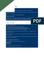 Sagar HTML Notes