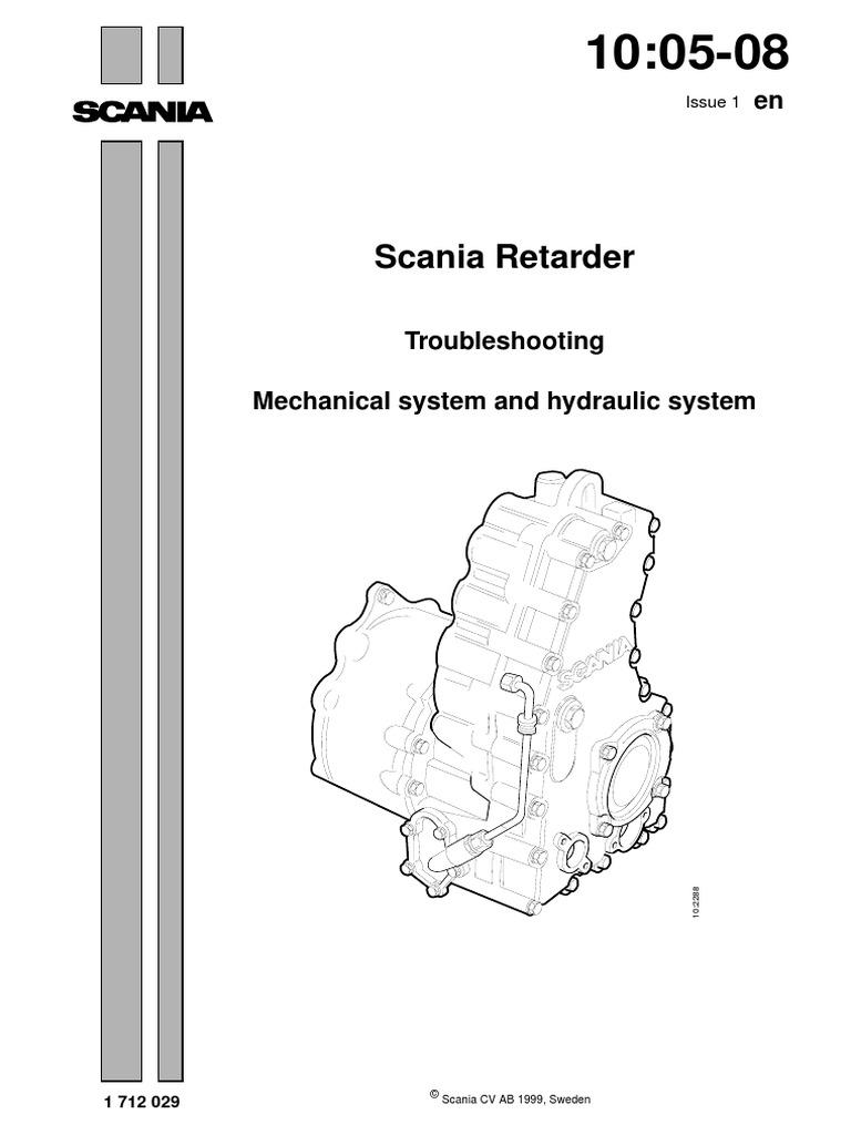 scania retarder 3 valve axle rh scribd com Scania T Scania 113 in Blue