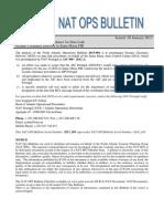NAT OPS Bulletin 2013_001