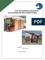 BAÑOS RURALES ARRASTRE HIDRAULICO Y TANQUE SEPTICO