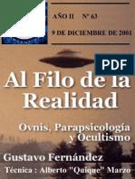 [AFR] Revista AFR Nº 063 OVNI