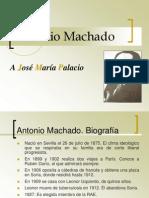 CARLOS PRIETO. Antonio Machado. A José María Palacio
