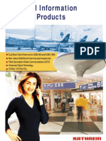 Kathrein Product Brochure 9985711