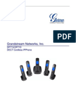 User Manual Grandstream DP/1XX
