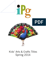 IPG Spring 2014 Kids' Arts & Crafts Titles