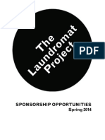 Sponsorship Deck - The Laundromat Project