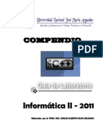 Manual de Laboratorio 2010 -I Dev c++