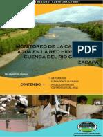 Calidad Del Agua Cuenca Rio Grande de Zacapa 2013