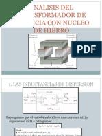 Analisis Del Transformador de Potencia Con Nucleo De
