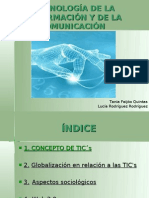 Trabajo en Power Point (TIC´s)