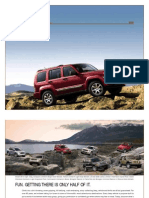 2008 JEEP LIBERTY BROCHURE