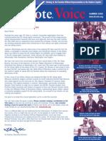 DC Vote Summer 08 Newsletter