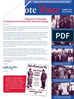 DC Vote Summer 06 Newsletter
