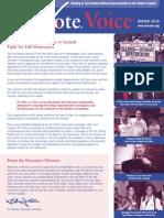 DC Vote Winter 10 Newsletter