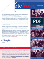 DC Vote Spring 06 Newsletter