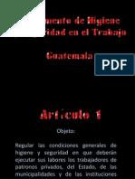 Presentación Reglamento Higiene y Seguridad Guatemala