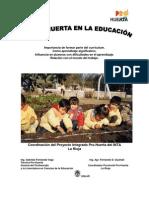 El Prohuerta en la Educación - La Rioja