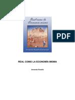 Armando Roselló, REAL COMO LA ECONOMÍA MISMA