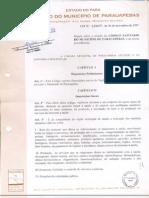 LEI Nº 3.226-Dispõe sobre a criação do Código Sanitário do Município de Parauapebas