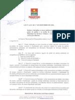LEI Nº 4.252-Institui e disciplina as taxas ambientais pelo