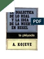 La Dialectica de Lo Real y La Idea de La Muerte en Hegel