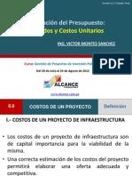 Elaboracion Del Presupuesto Metrado y Costos Unitarios