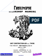 Triumph Repair Manual 63 70