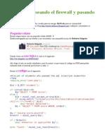 SQLi Bypasseando El Firewall y Pasando El Examen by Arthusu