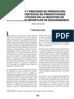 PROCESOS DE PRODUCCIÓN - Bucaramanga
