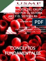 Detreminacion de Grupo Sanguineo