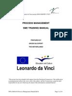 WP4 20061019 Process Management Manual KG4