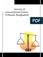 Inconsistencies of International Crimes Tribunal, Bangladesh