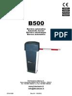 Man B500 Rev.01 Manual de Istalacion