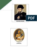 Atahualpa, Pizarro, Guerra Civil, Recursos Naturales, Censos, Etc