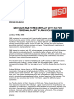 13 May 09.QBE Signs 5-Year Contract With ISO