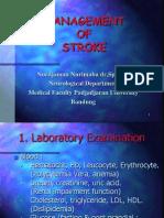 Management of Stroke