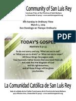 Bulletin for MSLRP 03-02-2014