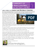 San Luis Rey Faith Community Newsletter March 2014