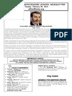 OMMS Newsletter for 2-25-2014