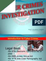 Cybercrimes Investigation