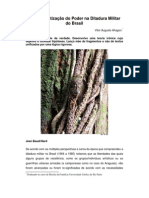A Democratização do Poder na Ditadura Militar do Brasil