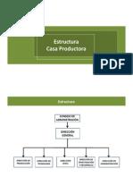 Estructura Casa Productora