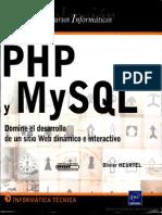 PHP y MySQL - Domine El Desarrollo de Un Sitio Web Dinmico e Interactivo