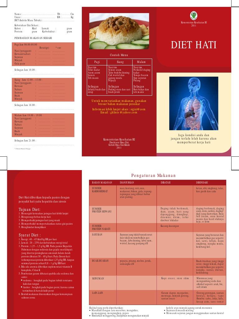 Kenapa Orang Dengan Penyakit Hati Harus Menjalankan Diet Khusus