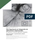 Integracion de Aplicaciones Empresariales
