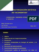 137590290 Curso Caracterizacion Estatica Yacimientos 6to Semestre PDF