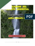 Evaluación del Impacto Ambiental (preliminar)